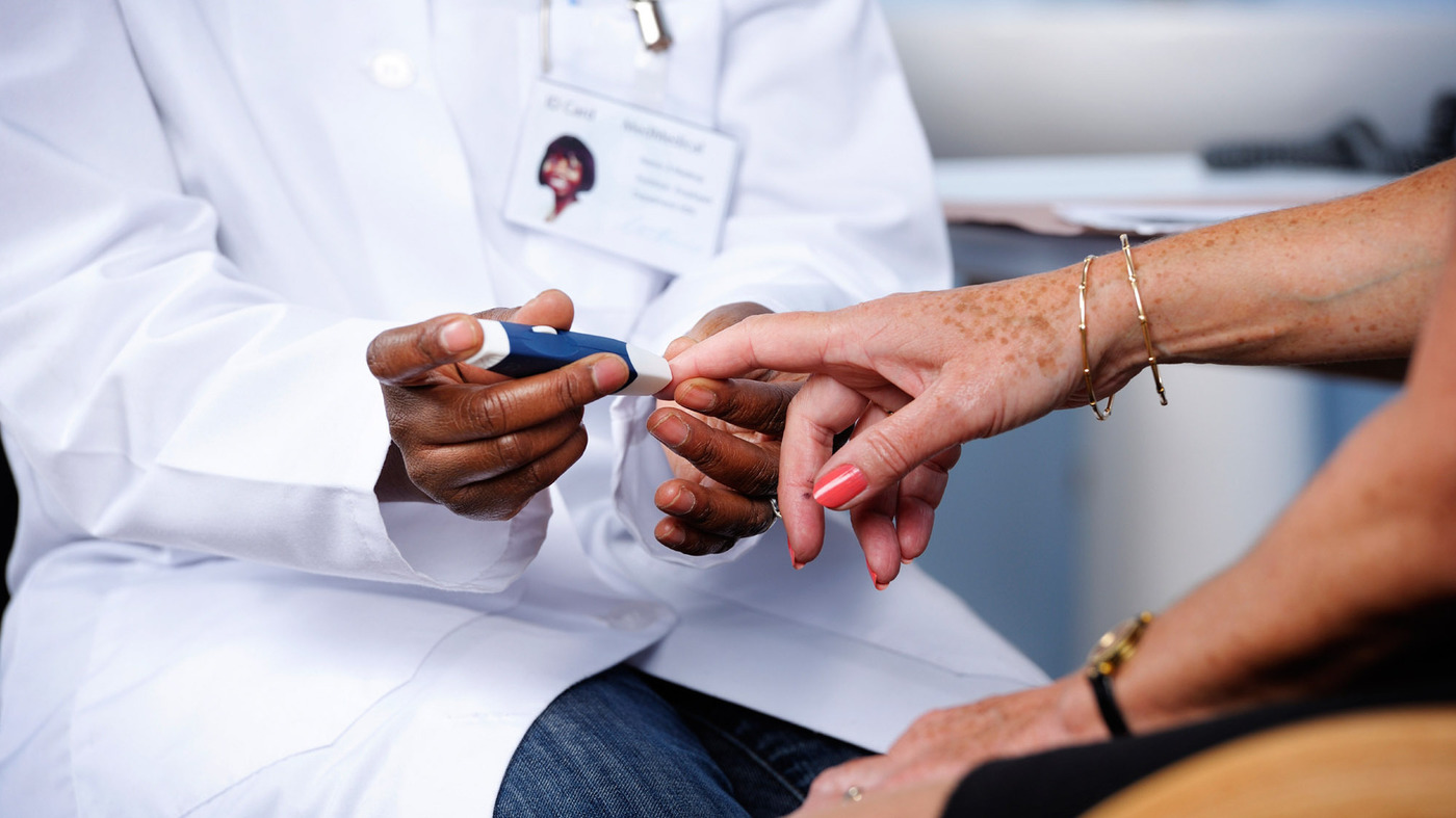The number of people being diagnosed with diabetes has been on the decline since 2009.